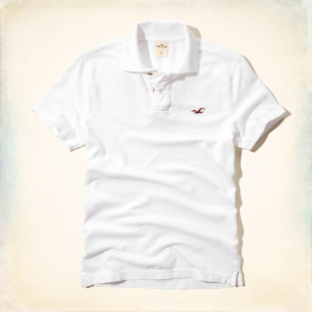 Hollister By Abercrombie Fitch Malaga Beach Polo Tee Ebay