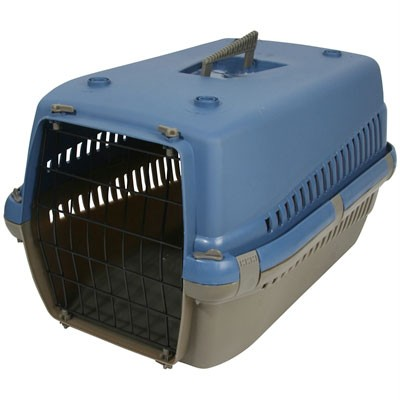 PET-CARRIER-CARRY-CAGE-BLUE-DOG-CAT-RABBIT-etc-BRAND-NEW