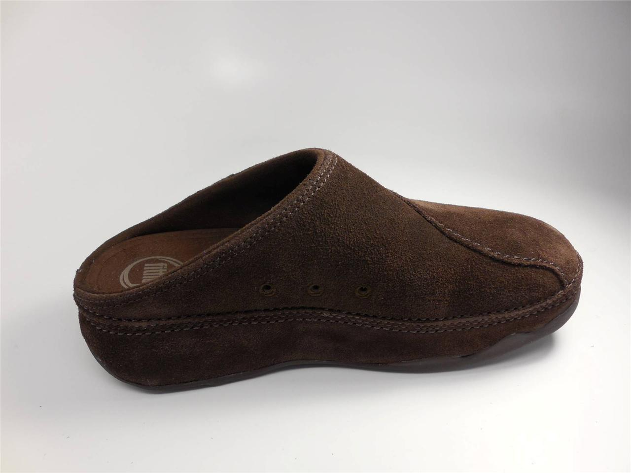 Fitflop Gogh Suede Women Suede Mules Clogs Shoes New | EBay