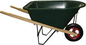 GREEN-Kids-Poly-Wheelbarrow-Toy-Wheel-Barrow
