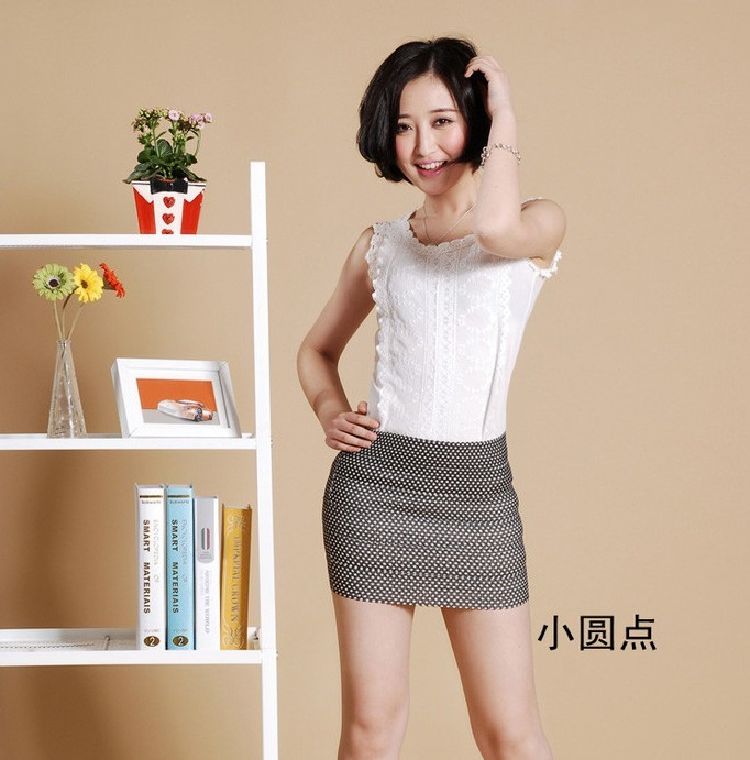 Tight mini skirt