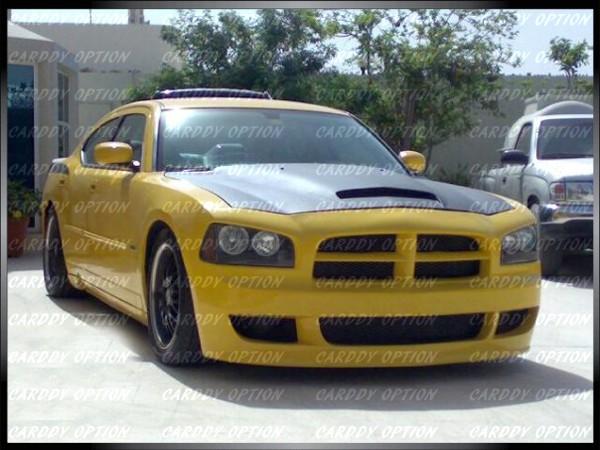 Dodge Charger RK Striker Style Functional RAM Air Fiberglass Hood