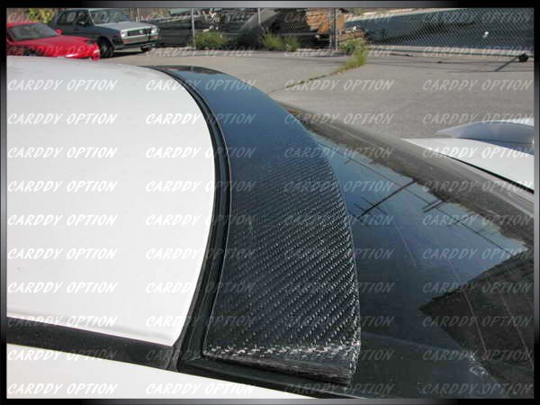 03 04 05 06 toyota camry real ait carbon fiber roof spoiler wing lip ebay. Black Bedroom Furniture Sets. Home Design Ideas