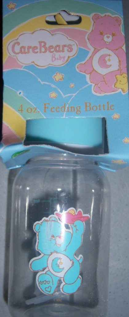Care Bears Baby Bottle, Funshine, Love A Lot, Bed Time, Baby Shower
