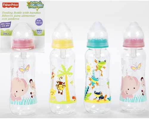 Fisher-Price-8oz-Bottle-Animals-of-the-Rainforest-Baby-Shower-Diaper-Cakes