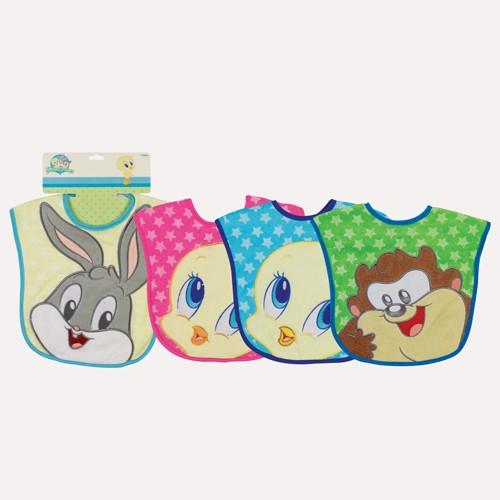 new looney tunes applique bib bugs bunny tweety taz baby shower diaper
