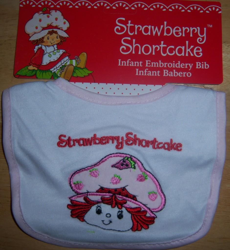 strawberry shortcake baby bib blueberry muffin baby shower diaper