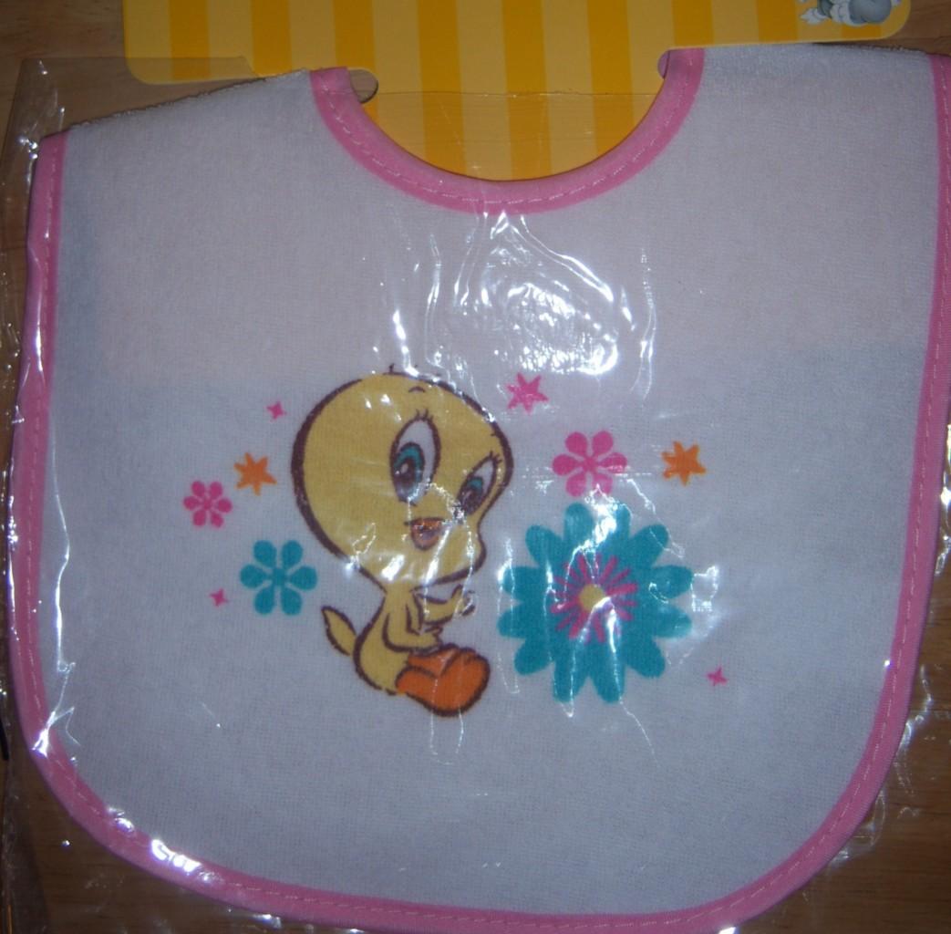 baby looney tunes bib baby bugs bunny baby tweety baby taz baby shower