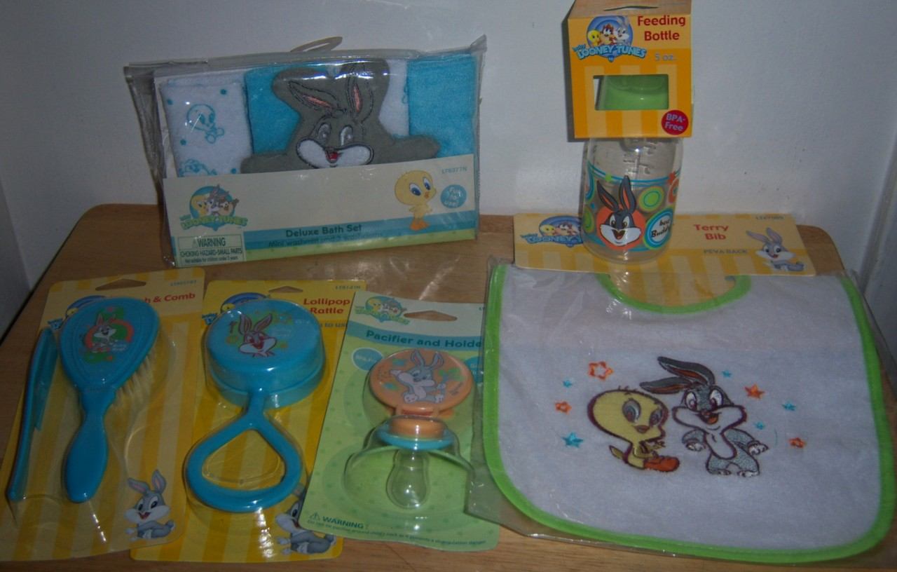 new baby shower looney tunes gift set diaper cakes bugs bunny tweety