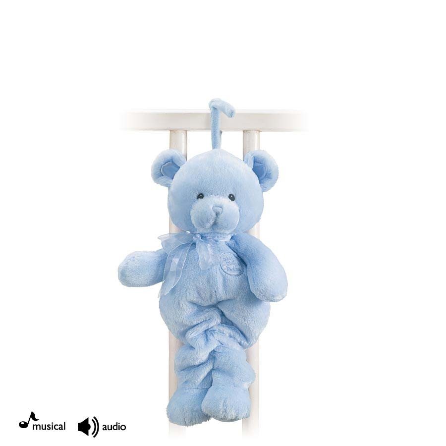Sweet Jojo Designs Chocolate Teddy Bear Musical Baby Crib