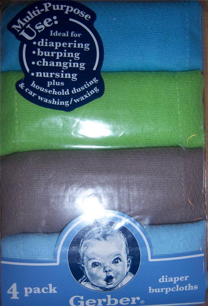 Burp Cloth Diaper Cake
