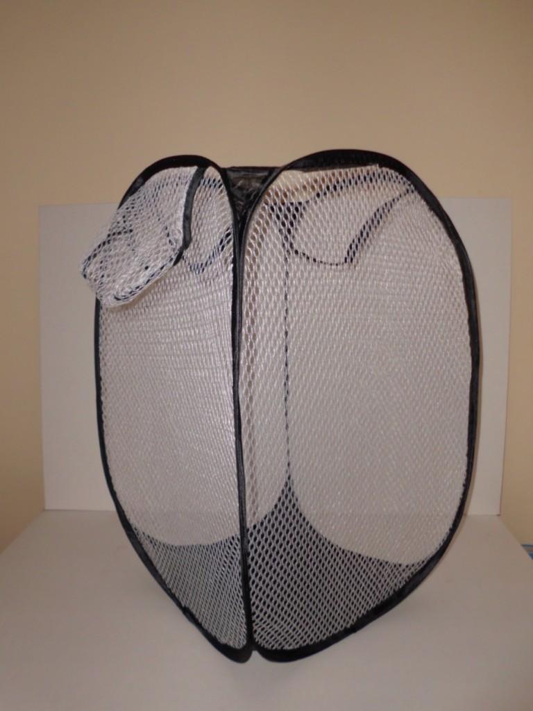 Foldable Pop Up Laundry Basket Hamper Washing Clothes Bag Bin Mesh Storage Ebay