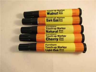 pc Wood Furniture Touch Up Markers Scratch Repair Dark Light Oak