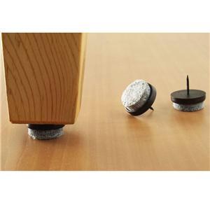 Nail On 32 Pc Furniture Table Chair Leg Felt Floor Protectors Felt Pad Slide Ebay
