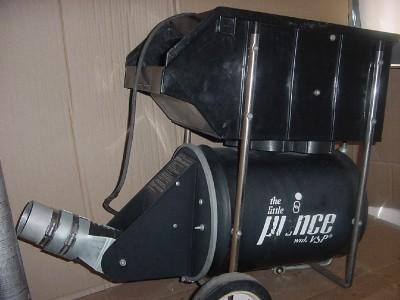 prince tennis machine model 1