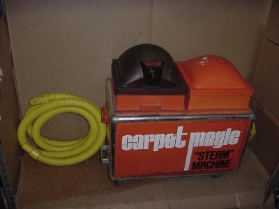 carpet magic steam machine