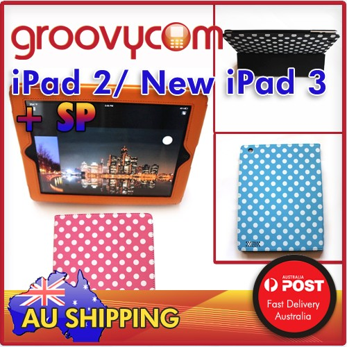 iPad 2 new ipad 3 polka dotted case