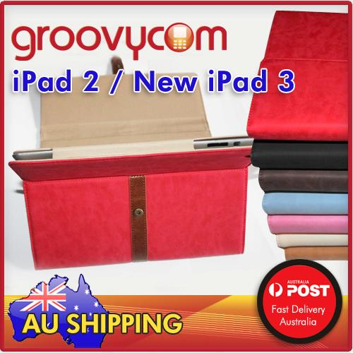 iPad 2 new iPad3 Classic case stand
