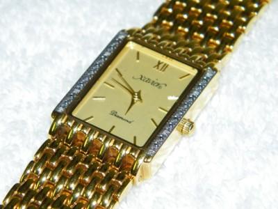18k xavier mens with diamonds ebay