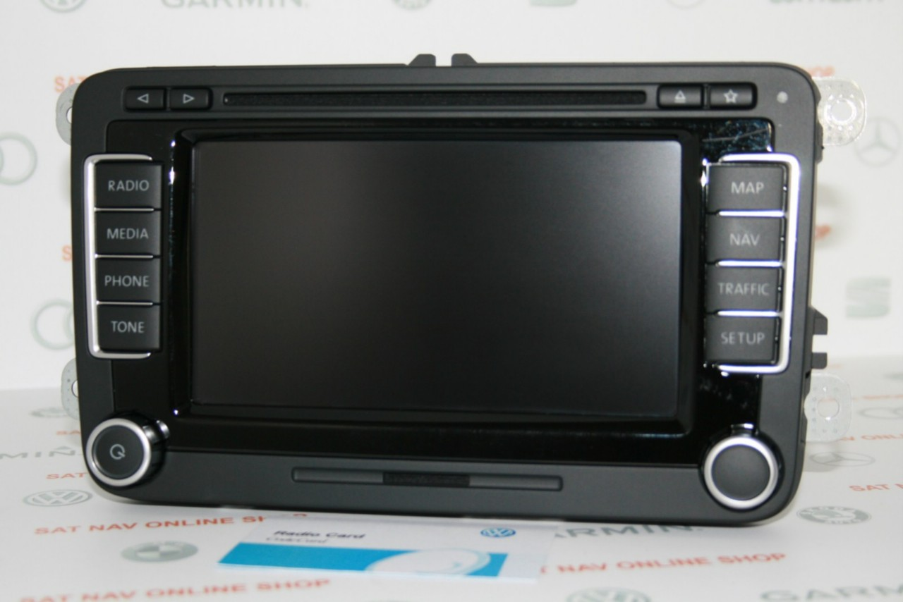 vw rns 510 sat nav mfd3 rns510 f led v7 premium. Black Bedroom Furniture Sets. Home Design Ideas