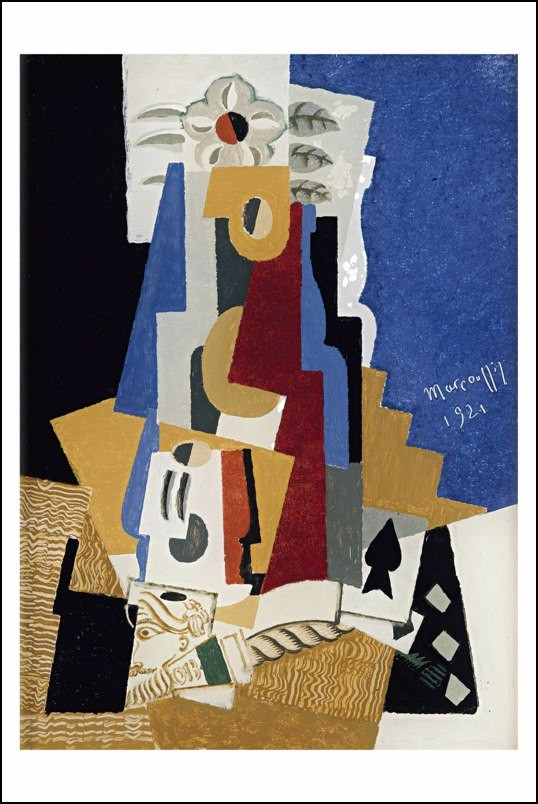 Poster affiche peinture louis marcoussis composition - Poster peinture ...