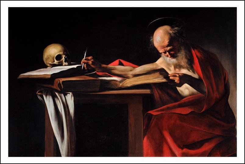 Poster affiche peinture caravage caravaggio st for Poster contemporain
