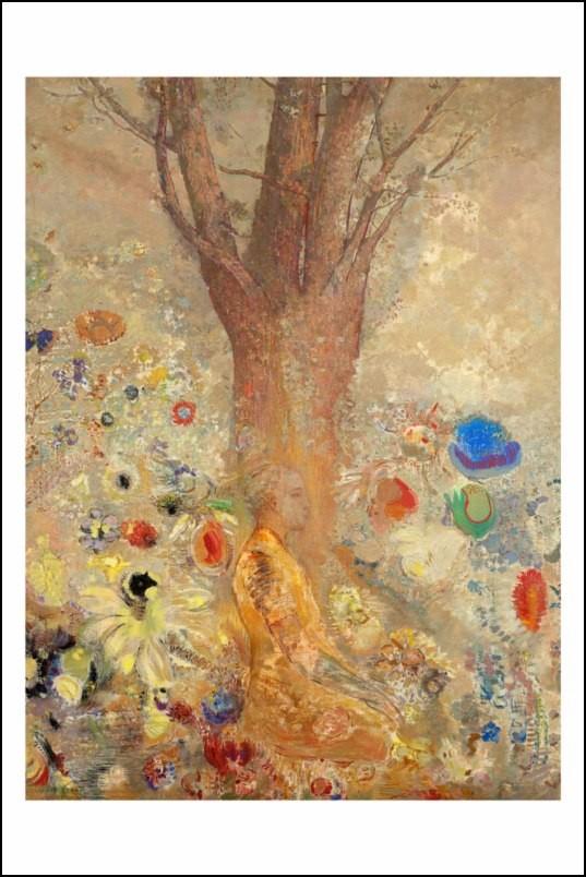Poster affiche peinture odilon redon bouddha 1904 neuf ebay - Poster peinture ...