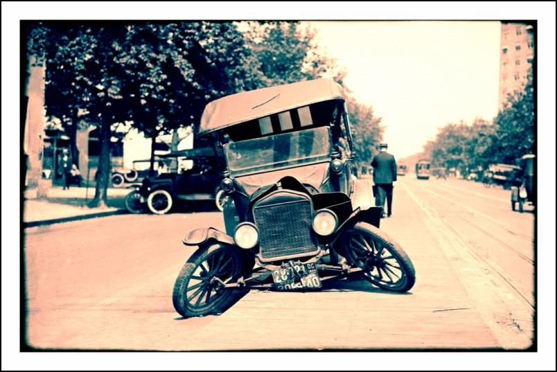 poster affiche photo accident de voiture aux usa 1922 neuf ebay. Black Bedroom Furniture Sets. Home Design Ideas