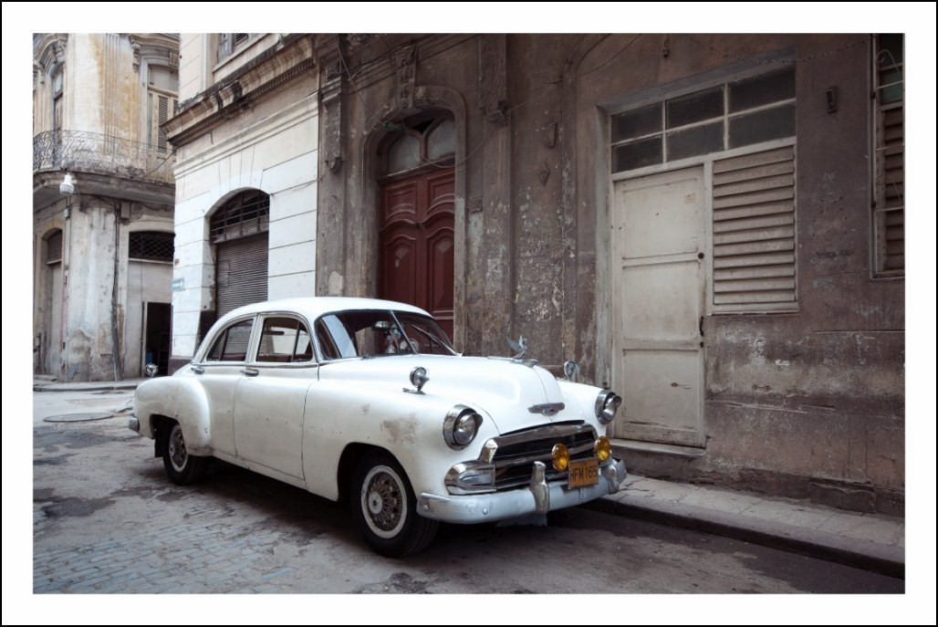 poster affiche photo de cuba la havane vieille voiture neuf ebay. Black Bedroom Furniture Sets. Home Design Ideas