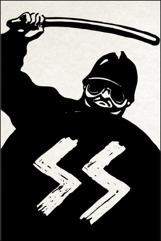 Poster affiche mai 68 restaur e crs ss neuf ebay for Poster contemporain