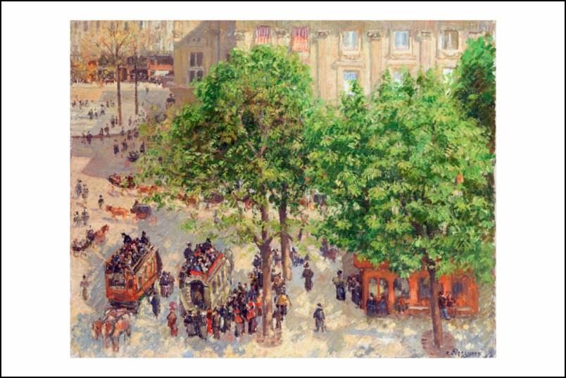 Poster affiche peinture camille pissarro paris neuf ebay - Poster peinture ...