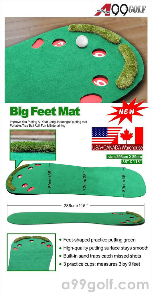 Big feet Mat