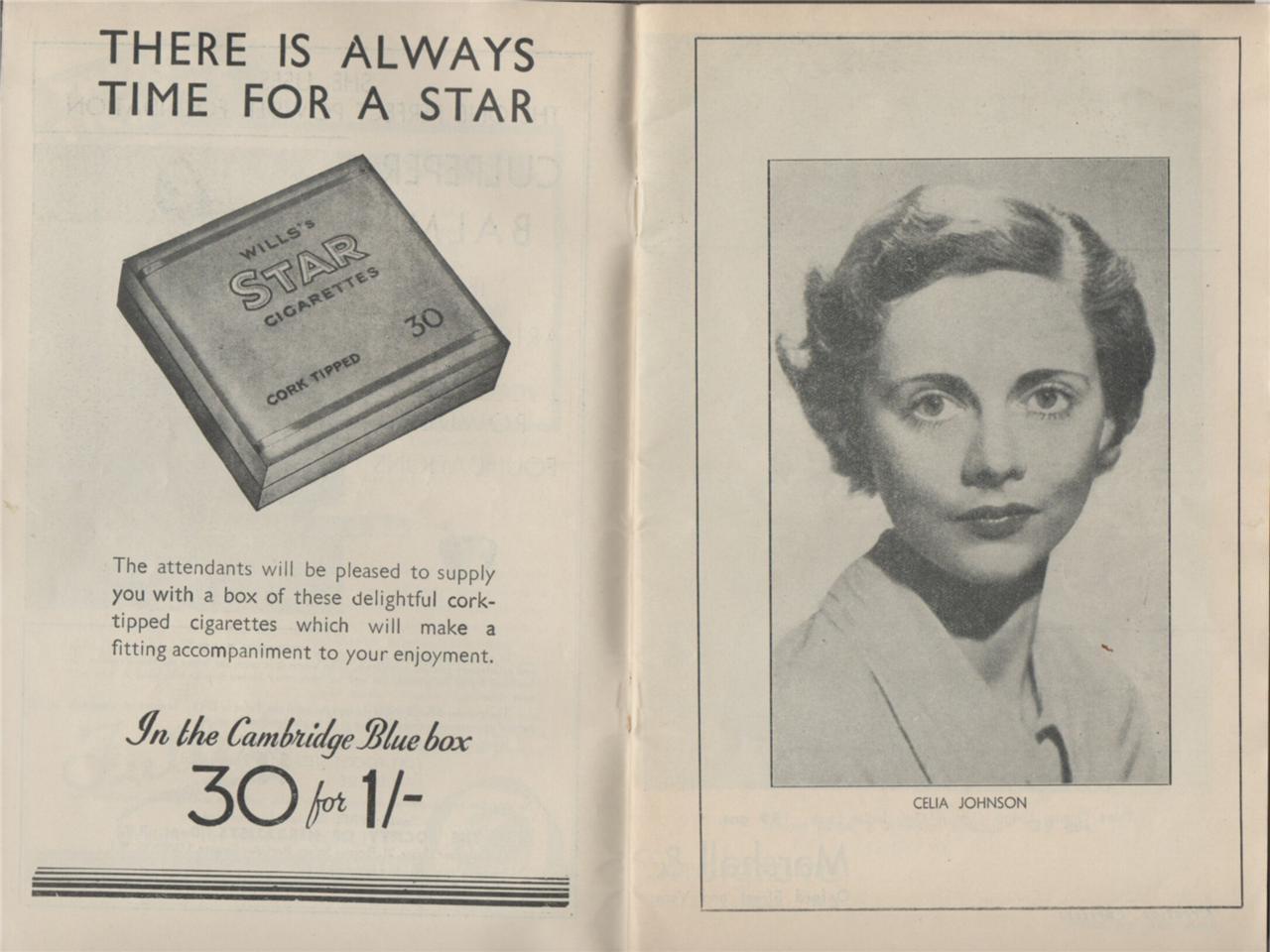 Savoy-Theatre-WIND-THE-RAIN-1930s-Celia-Johnson-Robert-Harris-programme-j24