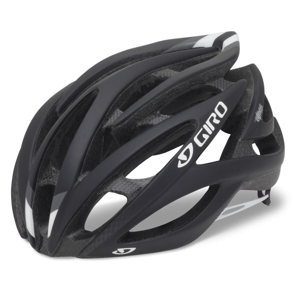 Brand New 2012 Giro atmos Matte Black Road Racing Bicycle Helmet Size
