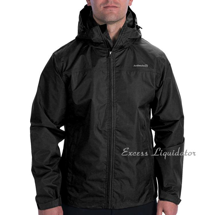 AVALANCHE MENS LINEAR HOODED JACKET Rain Weather Shield Waterproof
