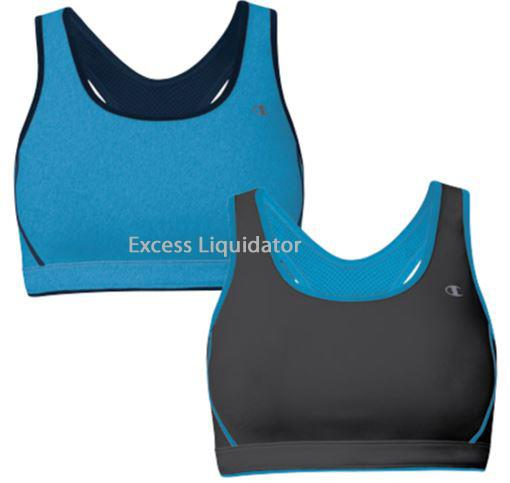 CHAMPION SPORTS BRA, 2 PACK, Reversible with Keyhole ...