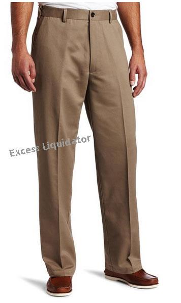 Dockers d3 mens pants comfort khaki flat front no for Dockers wrinkle free shirts