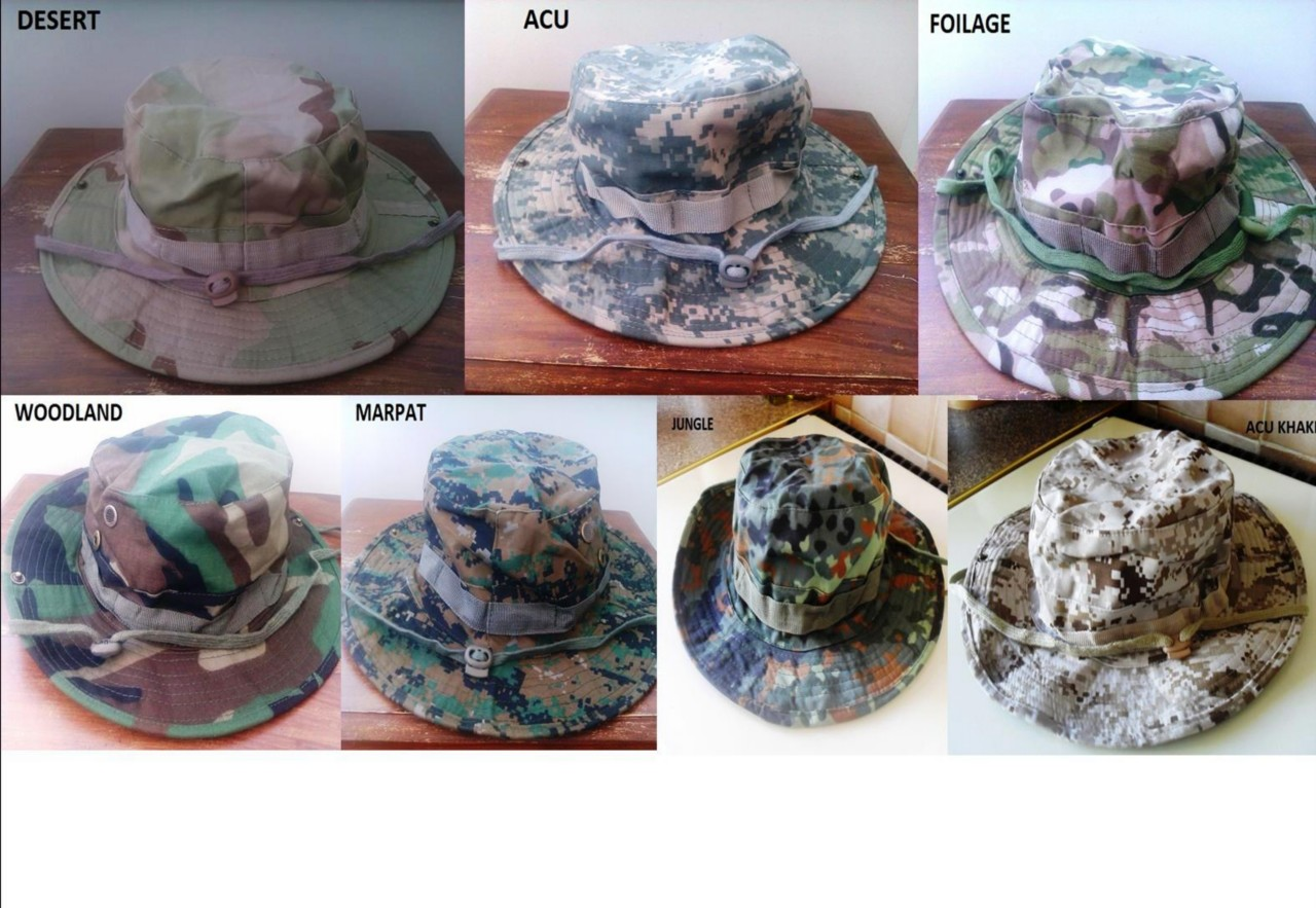 US-British-Army-Ripstop-Jungle-Tactical-Boonie-Hats