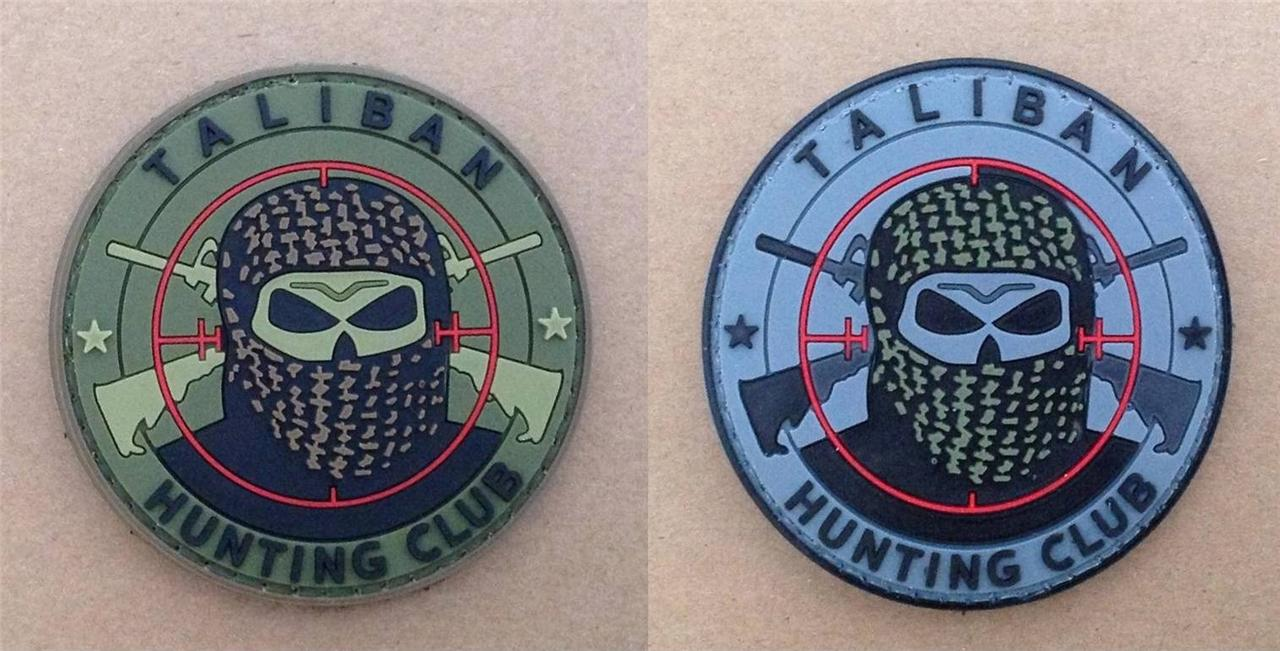 Taliban-Hunting-Club-Airsoft-Velcro-Patch
