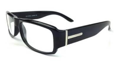 Glasses Frame For Thick Lenses : Designer Fashion Style Clear Lens Thick Frame Women Men ...