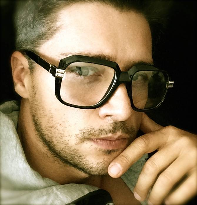 Big Frame Non Prescription Glasses : Retro Old School Square Thick Frame Clear lenses Nerd Men ...