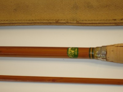 Vintage J C Higgins 9 Bamboo Fly Rod Shakespeare