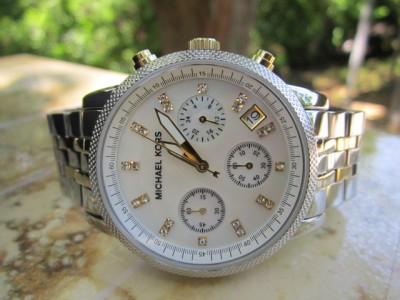 Michael Kors Womens Two tone Bracelet Gold/Silver MK5057 A43