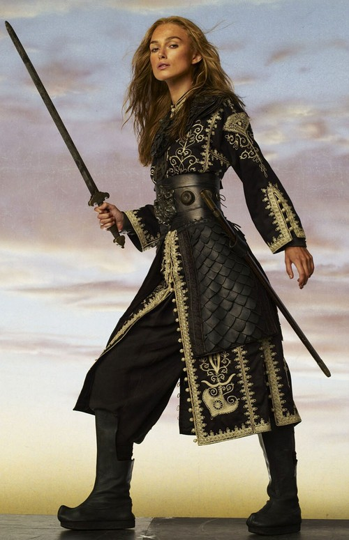 DISNEY STORE ELIZABETH SWANN DRESS 7-8 YRS PIRATES ...