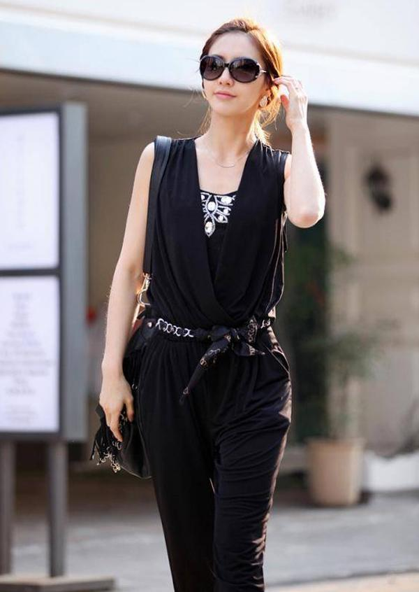 Luxury Work Wear Women Rompers Mujer Ankle Length Jumpsuit Bowknot Jumpsuits