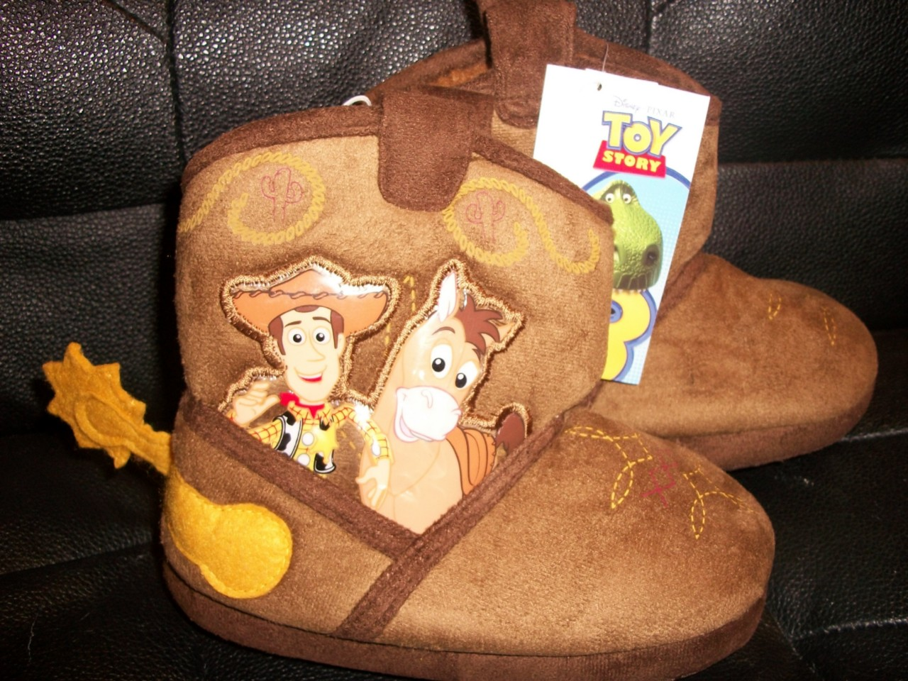Toy Story Slippers : New disney toy story woody cowboy boots slippers size