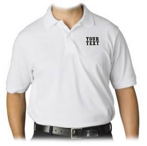 New men womens printed custom personalized collar polo t for Custom company polo shirts