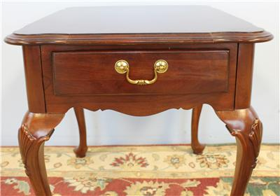 Ethan Allen Georgian Court Cherry Queen Anne 1 Drawer End. Sectional With Oversized Ottoman. Kitchen Table Centerpiece. Mirrored Dining Room Table. Victorian Chaise Lounge. Backyard Retreats. Memory Foam Carpet. Soapstone Counter. Custom Patios