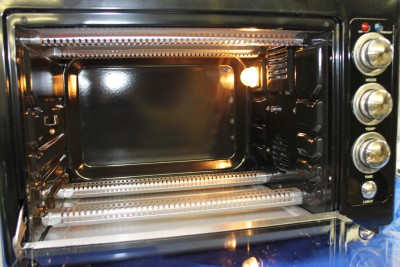 Countertop Convection Oven Food Network : Food Network Countertop Convection Oven w Rotisserie Amp Pizza Stone ...