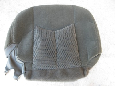 2003 2006 2007 classic chevy silverado oem front seat bottom cover new ebay. Black Bedroom Furniture Sets. Home Design Ideas